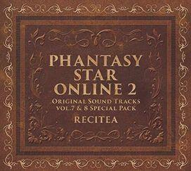Phantasy Star Series - Phantasy Star Online 2 Original Soundtracks Vol 7 & 8 Gouka Set(Original Soundtrack)