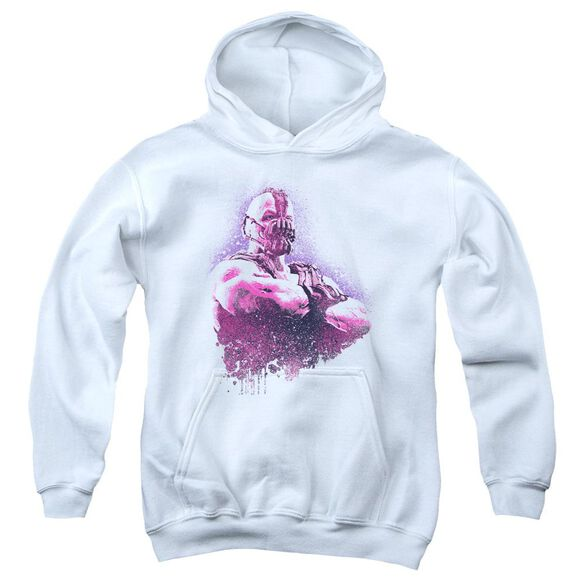 Dark Knight Rises Spray Bane Youth Pull Over Hoodie