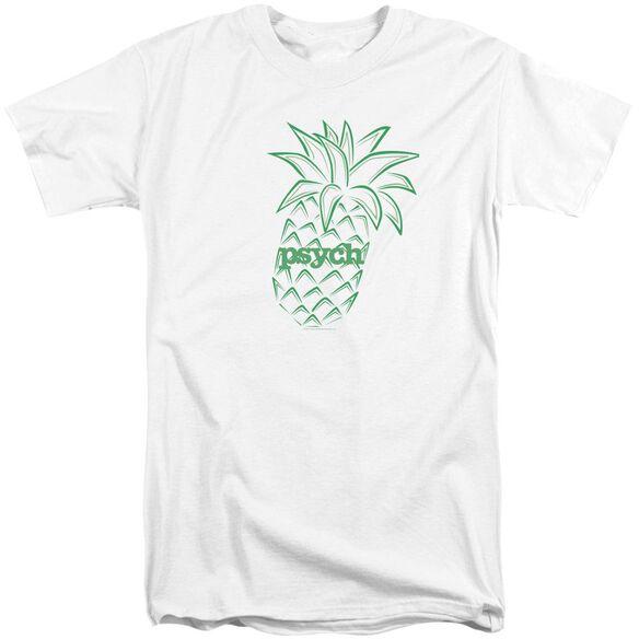 Psych Pineapple Short Sleeve Adult Tall T-Shirt