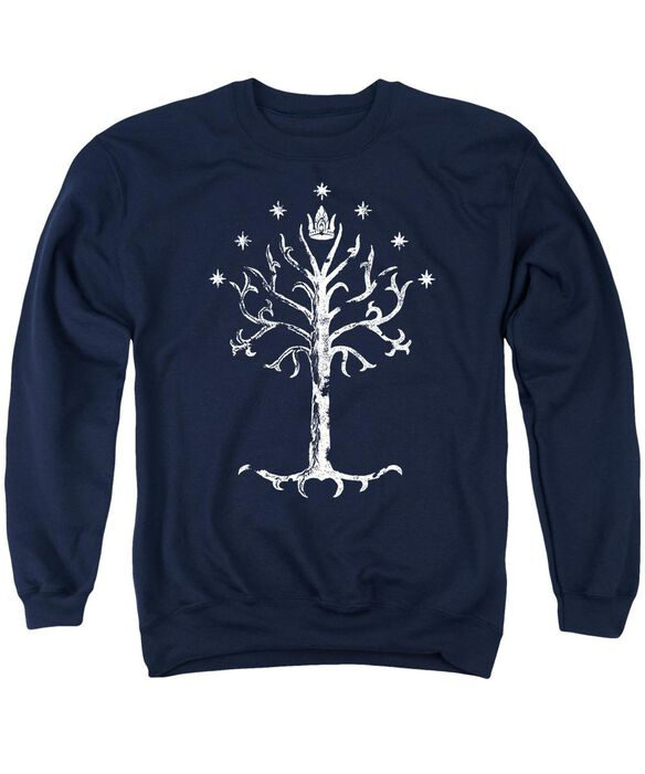 Lor Tree Of Gondor Adult Crewneck Sweatshirt
