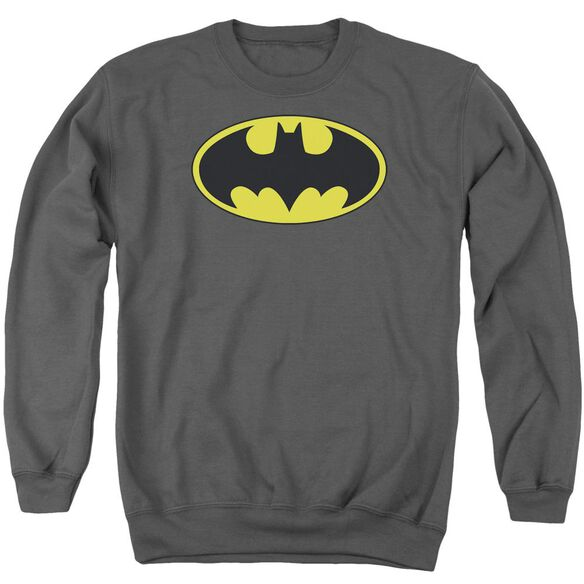 Batman Classic Bat Logo Adult Crewneck Sweatshirt