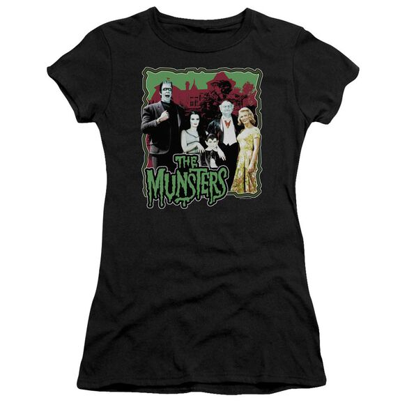 The Munsters Normal Family Short Sleeve Junior Sheer T-Shirt