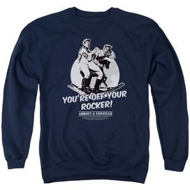 Abbott & Costello Off Your Rocker Adult Crewneck Sweatshirt