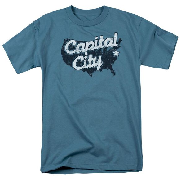 CAPITAL CITY - ADULT 18/1 - SLATE T-Shirt