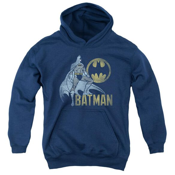 Batman Knight Watch Youth Pull Over Hoodie