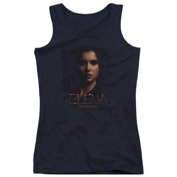 Vampire Diaries Elena Smokey Veil Juniors Tank Top
