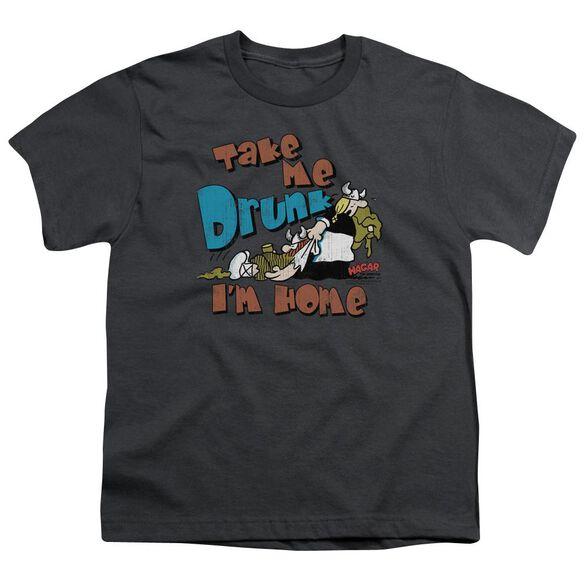Hagar The Horrible Take Me Home Short Sleeve Youth T-Shirt