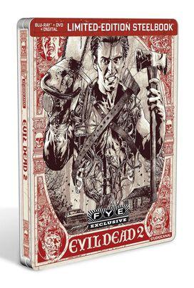 Evil Dead 2 [Exclusive Blu-ray Steelbook]