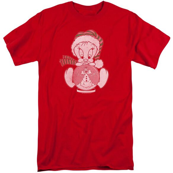 Looney Tunes Tweey Globe Short Sleeve Adult Tall T-Shirt
