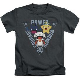 Jla Power Trio Short Sleeve Juvenile T-Shirt