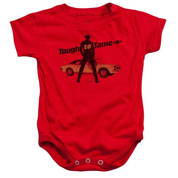 Chevrolet Tough To Tame Infant Snapsuit Red