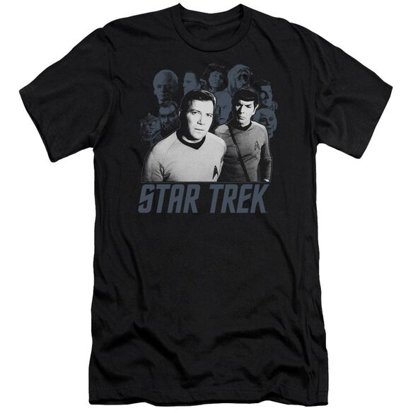 Star Trek Kirk Spock And Company Short Sleeve Adult T-Shirt