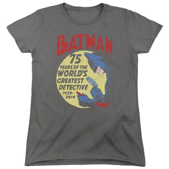 Batman Detective 75 Short Sleeve Womens Tee T-Shirt