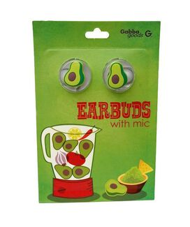 Avocado Earbuds with microphone