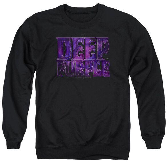Deep Purple Spacey Adult Crewneck Sweatshirt