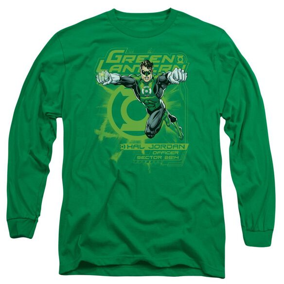 Lantern Sector 2814 Long Sleeve Adult Kelly T-Shirt