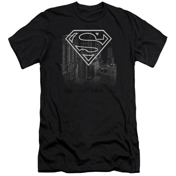 Superman Skyline Premuim Canvas Adult Slim Fit