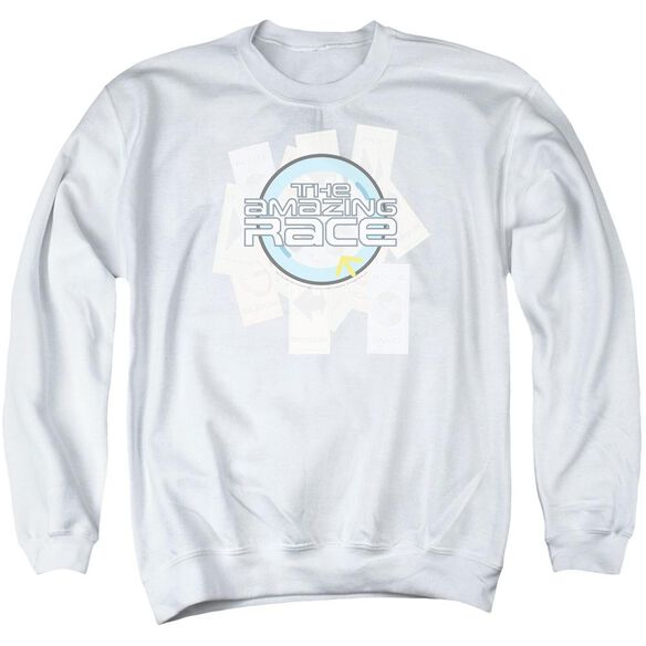 Amazing Race The Race Adult Crewneck Sweatshirt