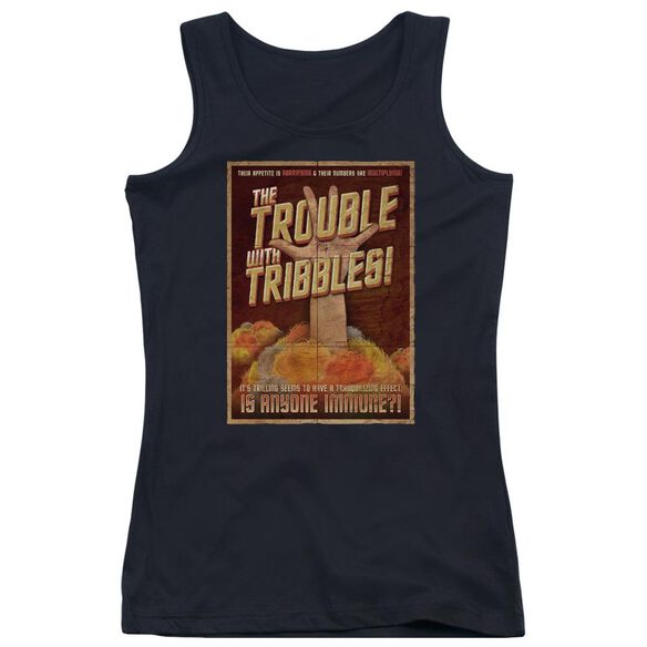 Star Trek Tribbles: The Movie Juniors Tank Top