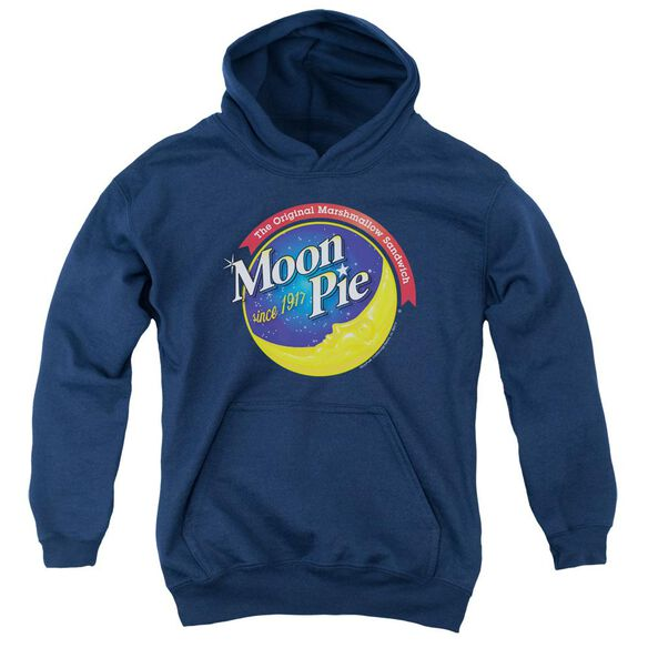 Moon Pie Current Logo Youth Pull Over Hoodie