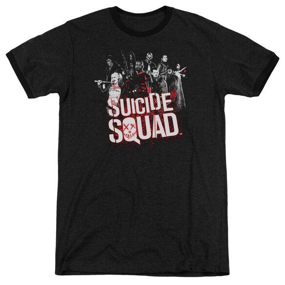 Suicide Squad Squad Splatter Adult Heather Ringer