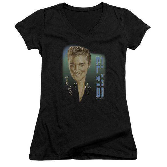 Elvis Elvis 56 Junior V Neck T-Shirt