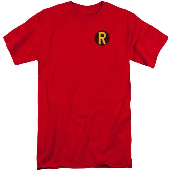 Dc Robin Logo Short Sleeve Adult Tall T-Shirt