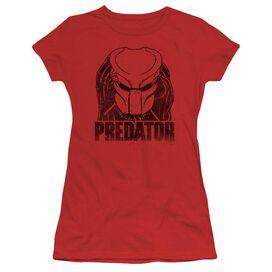 Predator Logo Short Sleeve Junior Sheer T-Shirt