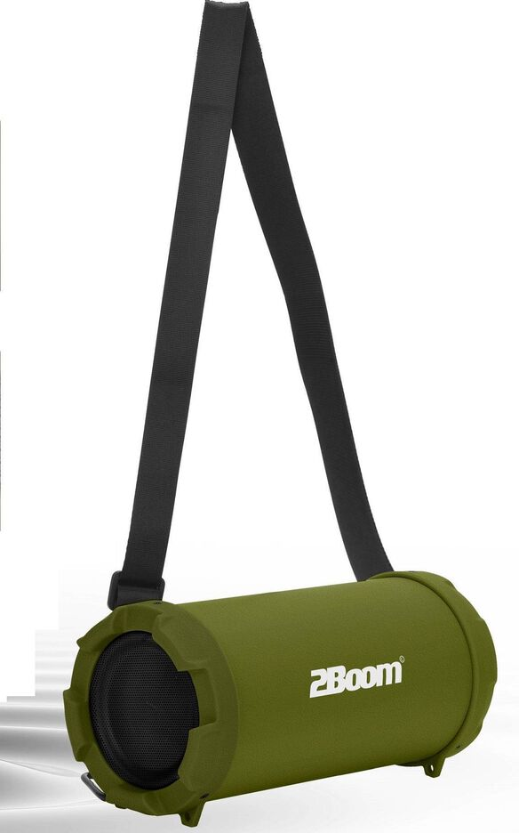 2Boom - Cyclone Portable Bluetooth Speaker [Green]