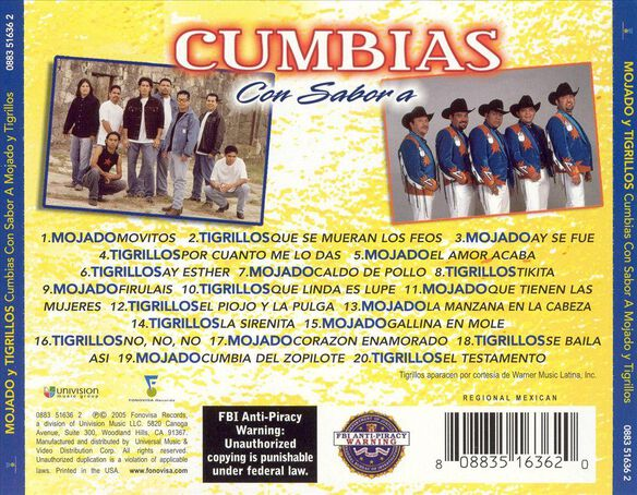 Cumbias Con Sabor 0505