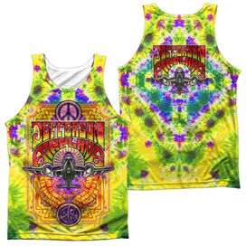 Jefferson Airplane Take Off (Front Back Print) Adult 100% Poly Tank Top