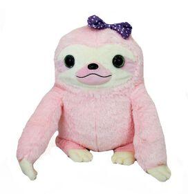 Poron Pink Sloth Plush