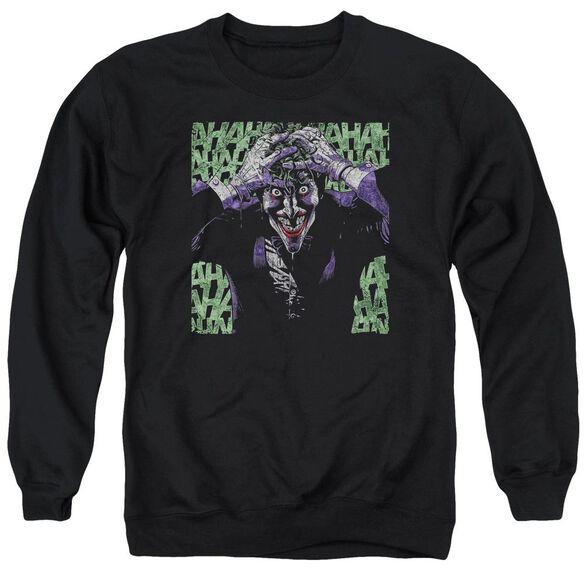 Batman Insanity Adult Crewneck Sweatshirt