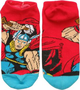 Thor Action Pose Low Cut Socks