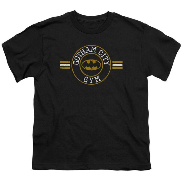 Batman Gotham City Gym Short Sleeve Youth T-Shirt