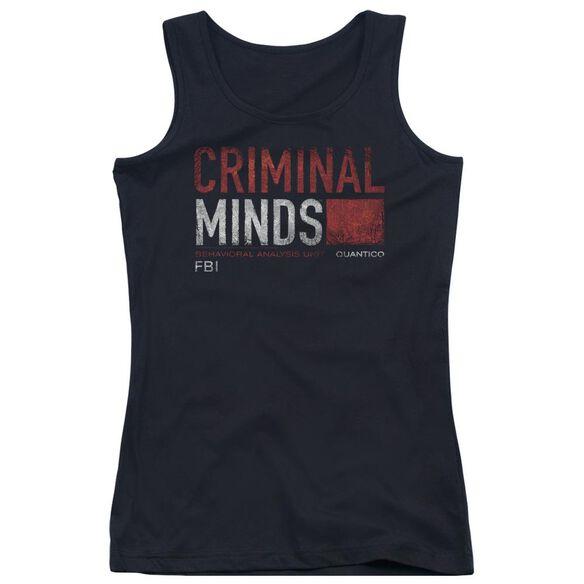 Criminal Minds Title Card Juniors Tank Top