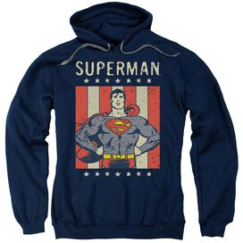 Dc Retro Liberty Adult Pull Over Hoodie