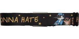 Regular Show Haters Gonna Hate Seatbelt Mesh Belt