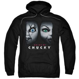 Bride Of Chucky Happy Couple Adult Pull Over Hoodie
