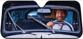 Bob Ross Car Shade
