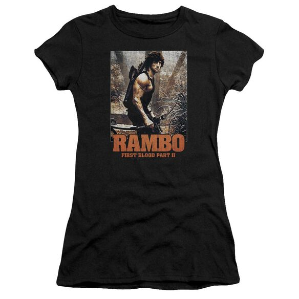 Rambo:First Blood Ii The Hunt Premium Bella Junior Sheer Jersey