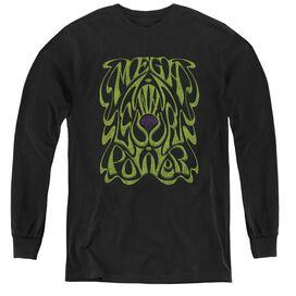 WARHEAD OUR POWER - YOUTH LONG SLEEVE TEE - BLACK T-Shirt