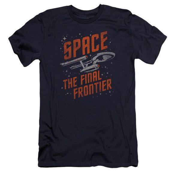 Star Trek Space Travel Premuim Canvas Adult Slim Fit