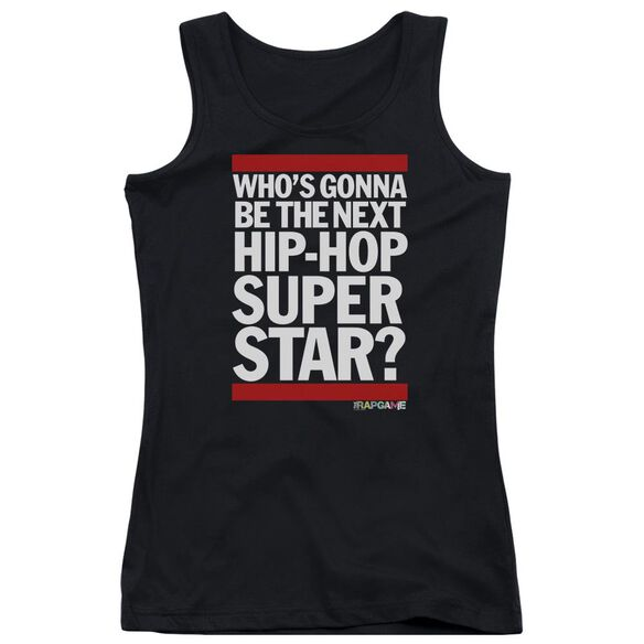 The Rap Game Next Hip Hop Superstar Juniors Tank Top