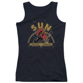 Sun Rocking Rooster Juniors Tank Top