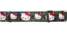 Hello Kitty Colored Tiger Stripes Mesh Belt