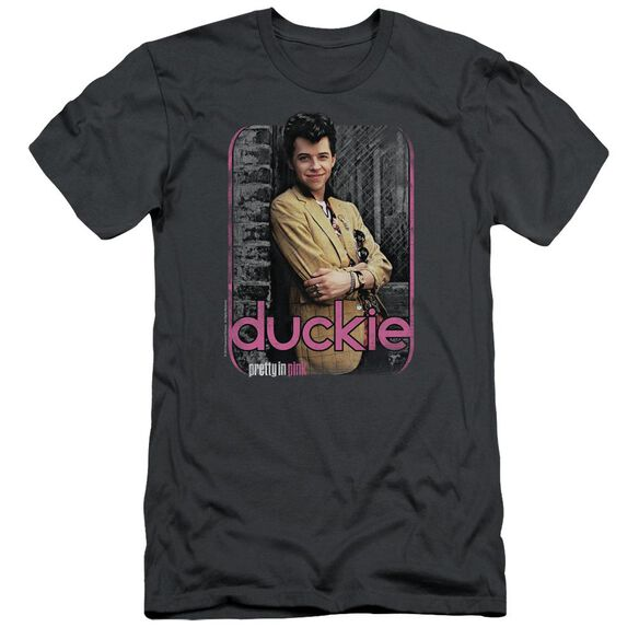 Pretty In Pink Just Duckie Short Sleeve Adult T-Shirt