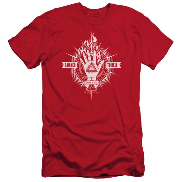 Constantine Damed To Hell Short Sleeve Adult T-Shirt