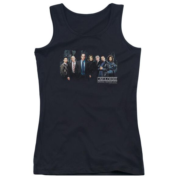Law And Order Svu Cast Juniors Tank Top