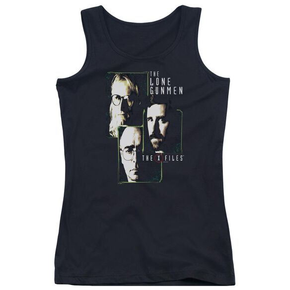 Files Lone Gunmen Juniors Tank Top